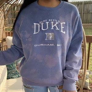 Lee Vintage Duke Bleach Splatter Sweatshirt SZ XL